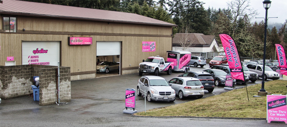 Mobile auto detailing in victoria bc with excalibur mobile auto spa new shop open in colwood solutioingenieria Image collections